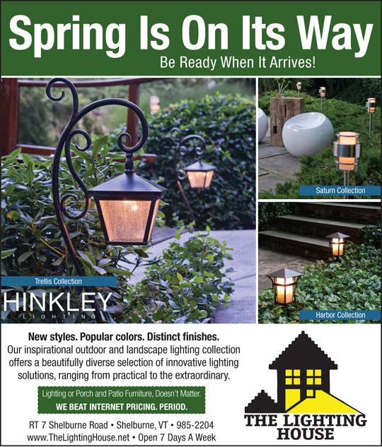Hinkley Landscape Lighting & Current Ads | The Lighting House - Vermontu0027s Premier Lighting Showroom