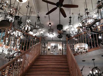 The Lighting House & The Lighting House - showroom in Shelburne VT