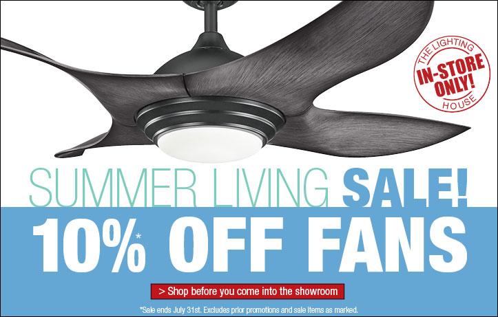 Summer Living Fan Sale