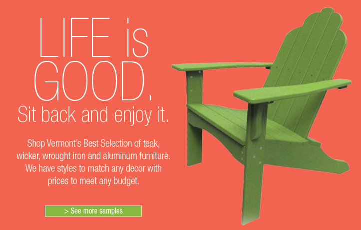 Life Is Good-Outdoor Furniture